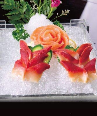 三文鱼单拼